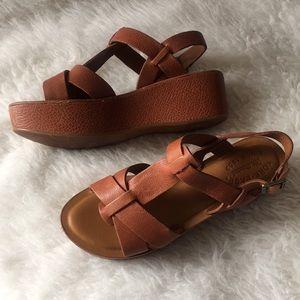 de634a6111c8 Kork-Ease Leather flatforms